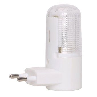 LED Night Light Emergency Light EU Plug Bedside Lamp Wall Mounted 4LEDs 3W Home Lighting - intl Price Philippines