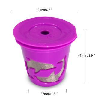 Leegoal Keurig Kcup Reusable Filter Cup For Keurig 2.0 And 1.0Brewers - Purple - intl - 5