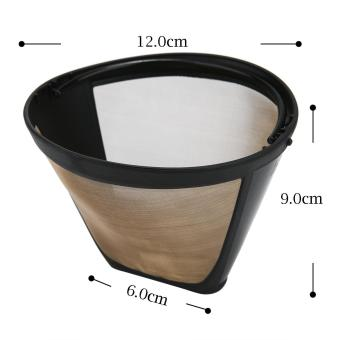 leegoal KOBWA #4 Cone Permanent Coffee Filter,Washable ReusableCoffee Filter - intl - 3