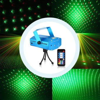 Lena Mini Stage Lighting LED Laser Projector, Red And Green Star Activated / Automatic / Flash Fda Certification For The Club Disco Djparty. - intl - 3