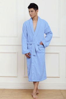 Lennon a man cotton summer Thin Men couple's bathrobe