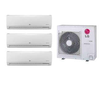 LG 4.0HP Multi Split Inverter Airconditioner Package (White)