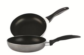 Lifestyle 26cm Non-Stick Open Induction Fry Pan Set of 2 (IXJ-260-01)