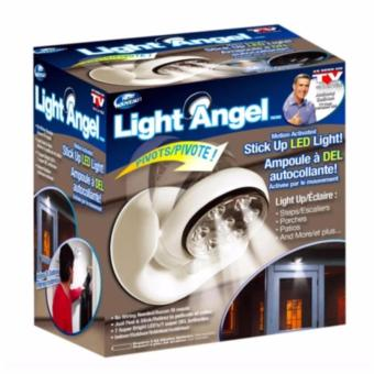 Light Angel Motion Activated Cordless LED Night Sensor Light(White)