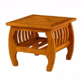 Linden Teak Handcrafted Solid Teak Wood Sedan Coffee Accent Side Table Furniture (Gold Teak Series Indoor Design) Price Philippines