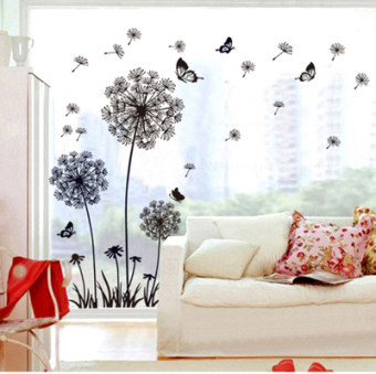 Living room bedroom romantic decorative sofa wall adhesive paper wall stickers