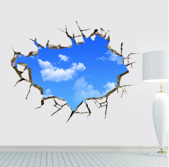 Living room roof bedroom wall sticker wall adhesive paper