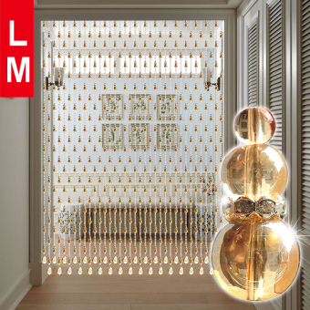 Lm crystal entrance bathroom bedroom curtain bead curtain
