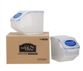 Lock&Lock pest control moisture rice box barrel rice Bucket
