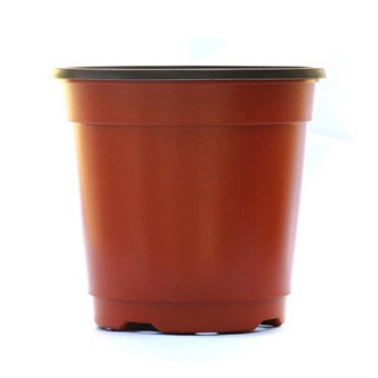 LOT OF 100 1 Gallon PLASTIC FLOWER NURSERY POTS