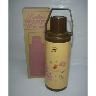 Lotus 2016 Thermos Vacuum Flask 2.2Liters - Brown Price Philippines