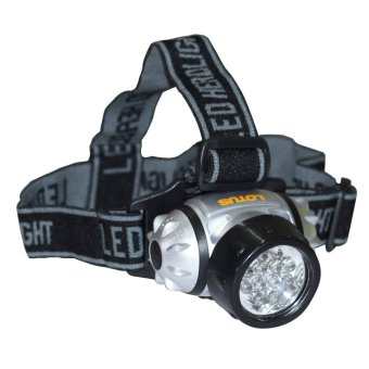 Lotus LTHL3331 12LED 60LM Headlamp (Black) Price Philippines