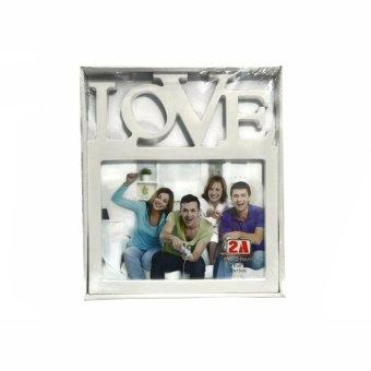 Love Design Picture Frame (White)
