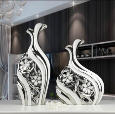 Creative Ceramic Home Accessories Modern Minimalist Living Room TV Cabinet Wine Entrance Vase Decoration