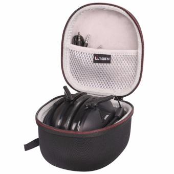 LTGEM EVA Hard Case Travel Carrying Storage Bag for Peltor SportTactical 100 Electronic Hearing Protector (TAC100) & 3M PeltorTactical 6S Active Volume Hearing Protector Folding Earmuffs - intl - 3