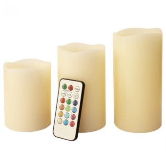 Luma Color Changing Candles with Remote Control