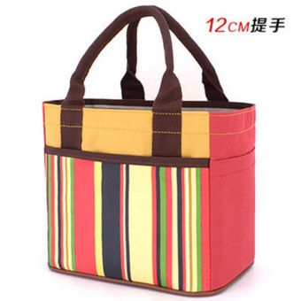 Lunch Cooler Bag Box Food Storage Tote