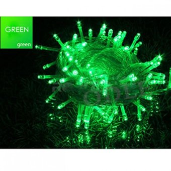 Mabuhay Star 100 LED String Christmas Lights (Green) Price Philippines