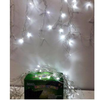 Mabuhay Star 200L LED Curtain Christmas Light (White) Price Philippines