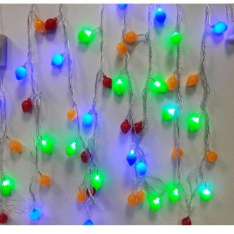 Mabuhay Star 50L Fruit Bulb Musical Christmas Light (Multicolor) Price Philippines