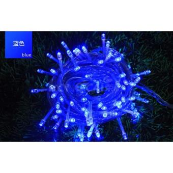 Mabuhay Star 80 Led Bright and Vivid Colors String Lights/Christmas Lights (Blue) Price Philippines