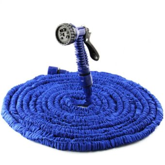 Magic Hose Expandable Garden Hose 75 Feet (Blue)
