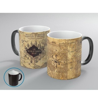 Magic Thermosensitive Coffee Cup Unisex Harry Potter Map 350Ml -intl Price Philippines