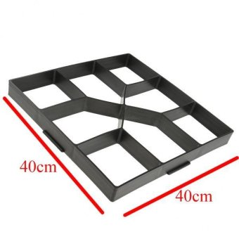 MagiDeal DIY Pathmate Concrete Stepping Stone Mould 40cm - 3