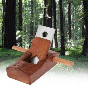 Mahogany Hand Planer Carpenter Woodworking Planing Tool(100mm) -intl - 2