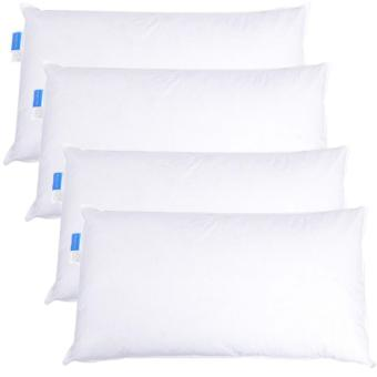 Majestic Bedding Down Alternative Pillow Queen 20 x 30 inches(White), Set of 4