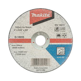 "Makita 4"" Cut-off Wheel D-18655 Pack of 10 - picture 2"