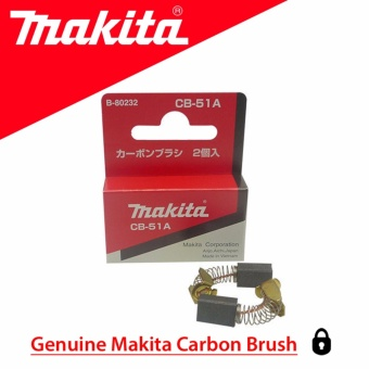 Makita 4300A Original Carbon Brush 51 / 51A / CB-51 / CB-51A