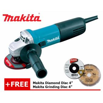 "Makita 9556NB 4"" Angle Grinder 840W Price Philippines"
