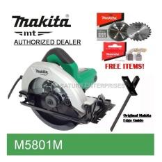 makita circular saw price. makita circular saw m5801 w/ 2 brand blade and carbon brush price