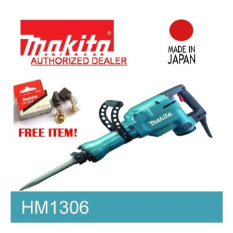 Makita HM1306 Demolition Hammer Made in Japan 1510watts 15.1kg