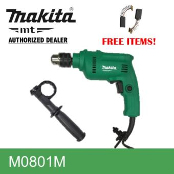 Makita M0801M Hammer Drill with Free 1 set Carbon Brush