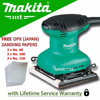 Makita M9200M Finishing / Palm Sander (180W) with 6pcs OPK (Japan)Sanding Papers