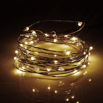 Makiyo 5M 50 LED USB Copper Wire LED String Fairy Light forChristmas Xmas Party Decor - intl Price Philippines