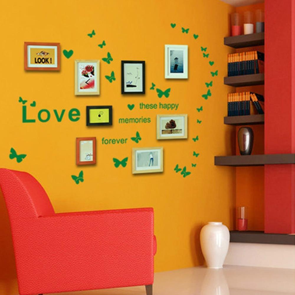 Philippines | Makiyo Creative DIY Love Butterflies Decorative Wall ...