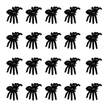 Makiyo Luminous Simulation Small Spider Halloween Plastic Spider Toys DIY Decorative Accessories - intl Price Philippines