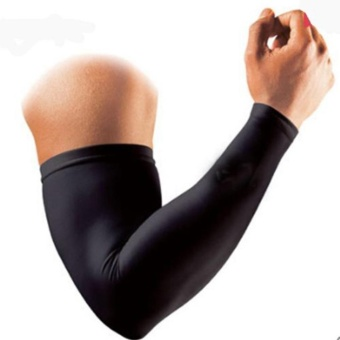 Makiyo Outdoor Sports Sunscreen Long Sleeves Cover Hand Arm Elbow Protector Gear (M) - intl Price Philippines