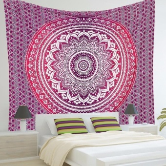 Mandala Tapestry Wall Hanging Throw Towel Beach Yoga Mat - intl