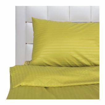 "Mandaue Foam Mezzo Pure M-4 Green Fitted Sheet 54x78"""