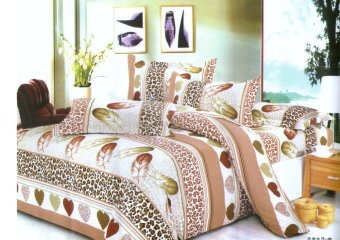 Manhattan Homemaker Queen Size Bedding 4-piece Set - (Fall and Feathers)