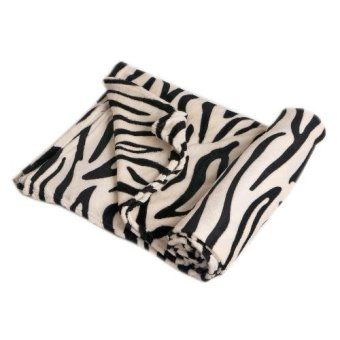 Manhattan Homemaker Ultra Soft Faux Mink Blanket Queen Size (SafariMinimalist)