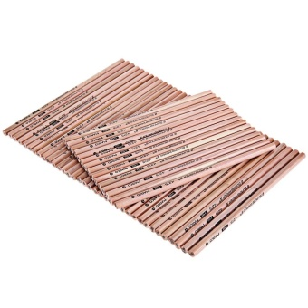 Marco 4215 50pcs Bottled Wooden HB Pencil Hexagonal (Apricot) -intl
