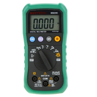 MASTECH MS8239C Auto Ranging Digital Multimeters Volt Current Resistance Frequency Temp Capacitance Tester - intl