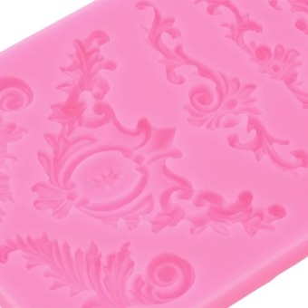Mat Fondant Cake Decorating Styling Tools Silicone Lace Mold FlowerPattern