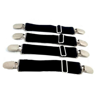 Mattress Sheet Suspenders Holders Adjustable Bed Sheet Fastener(4pcs)