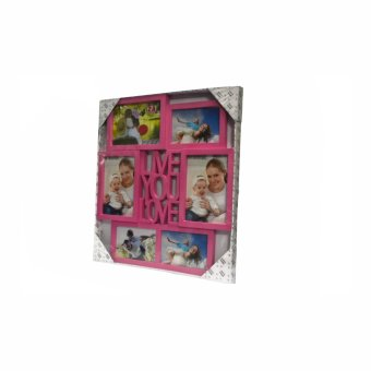 Me You Love Design Collage Picture Frame (Pink) - picture 2